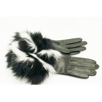 gants saxe renard femme