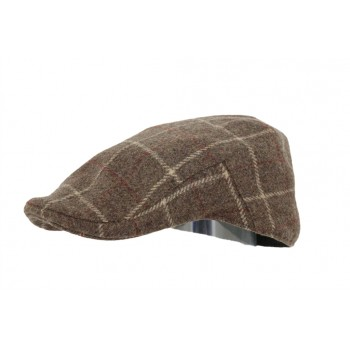 CASQUETTE PLATE HOMME 100% LAINE DERBY