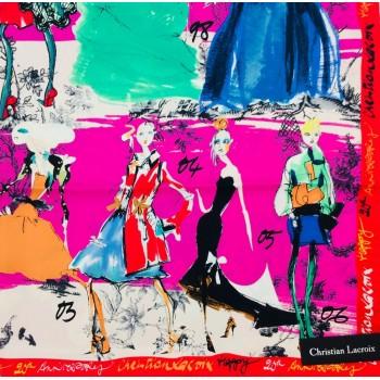falbalas saint junien - Christian Lacroix 20 ans carré de soie 90x90 210,00 € Carres femme