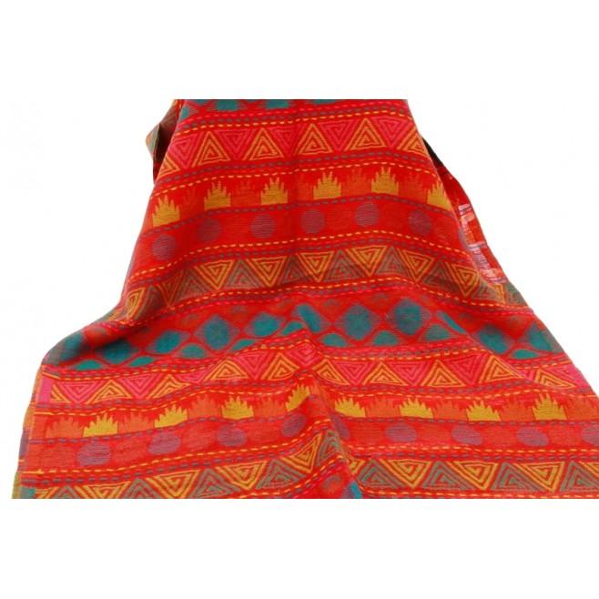 Falbalas saint junien Écharpe femme multicolore en coton R4882B