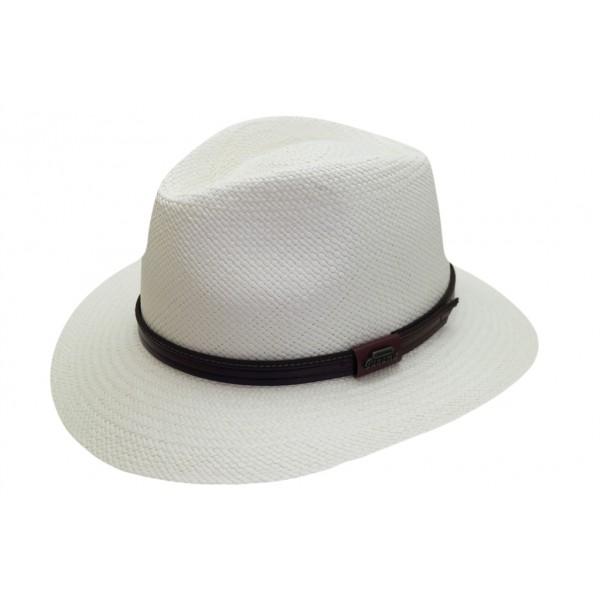 Chapeau panama écru - 16323PANAMA - 89,80 € - Falbalas st junien