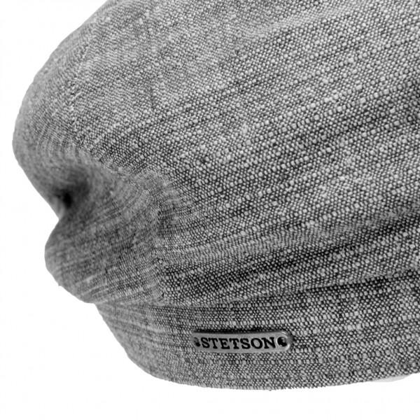 Stetson Hatteras casquette ronde homme en lin - HATTERAS6843102 - 79,40 € - Falbalas st junien