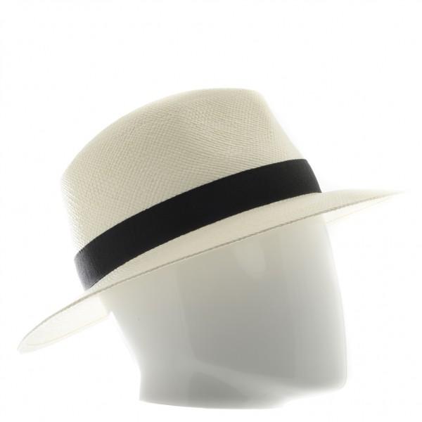 Chapeau homme Panama avec galon - 931 - 74,80 € - Falbalas st junien