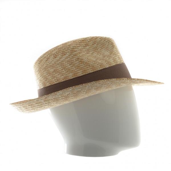 Chapeau homme en paille tressé - B61 - 39,50 € - Falbalas st junien