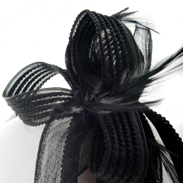 Serre tête femme de cérémonie en sisal/crin - ABIGAEL - 69,70 € - Falbalas st junien