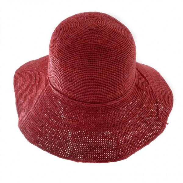 Aurega chapeau femme en raffia idéal pour l'été - BELINDA - 59,30 € - Falbalas st junien