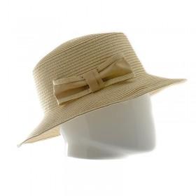 Sorbatti chapeau femme en papier avec noeud - 18164 - 29,40 € - Falbalas st junien