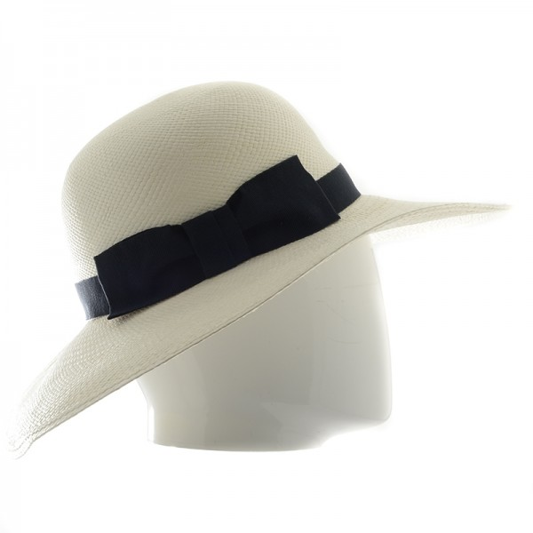 Capeline panama femme avec bord souple super glamour ! - 418 - 79,80 € - Falbalas st junien