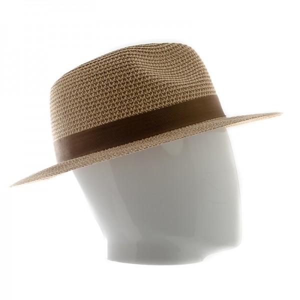 Stetson chapeau homme forme traveller avec ruban en viscose - TRAVELLERTOYO2478511 - 69,80 € - Falbalas st junien