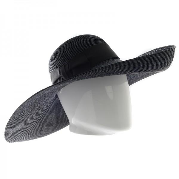 Chapeau femme en paille avec galon - 45941 - 149,70 € - Falbalas st junien
