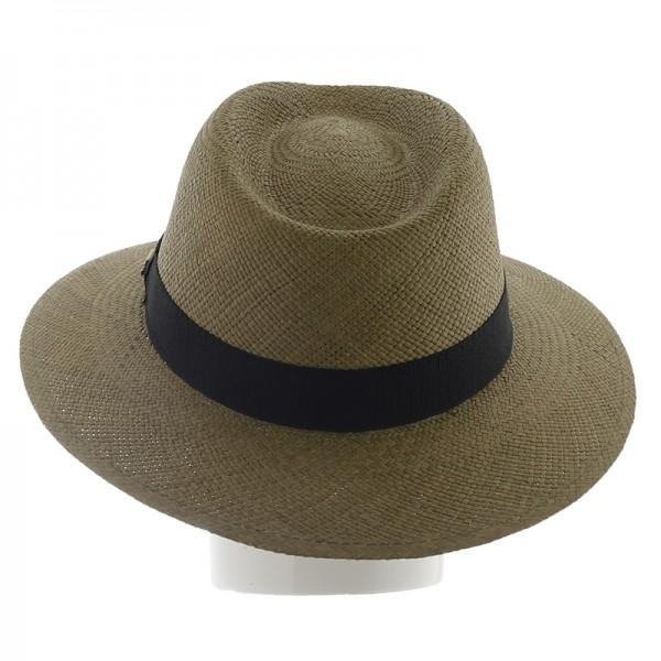 Chapeau femme Panama avec galon - 931DAME - 74,80 € - Falbalas st junien