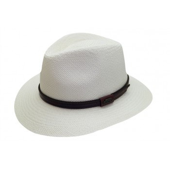 Chapeau panama écru