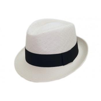falbalas saint junien - Panama homme petits bords en papier blanc 59,30 € Chapeaux homme